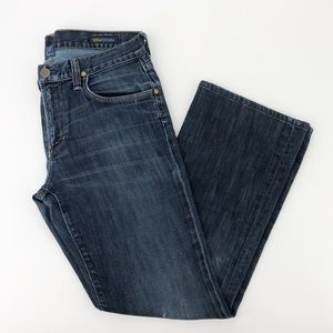Citizens Of Humanity Blue Denim Jagger Jeans